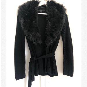 Guess belt fur cardigan - Size S